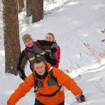 Po pás ve sněhu - Ondřejník